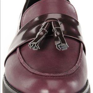 NWOT Geox Dark Prune Loafers